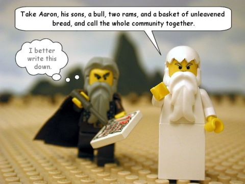 Leviticus Lego